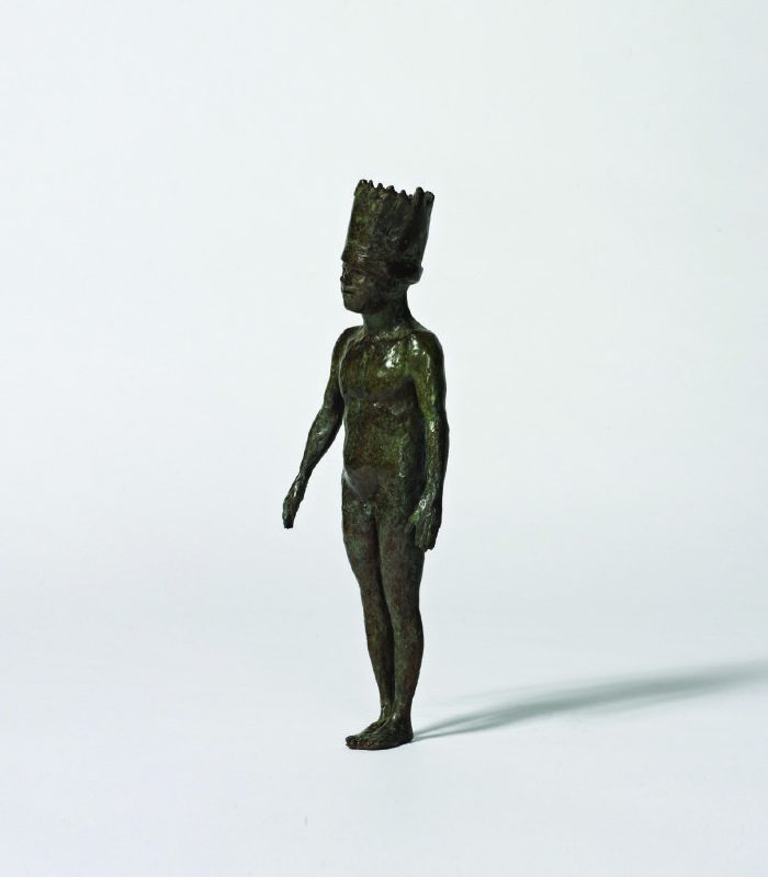 Beth Carter Small King, Bronze Ed. 15 34 x 13 x 7 cm