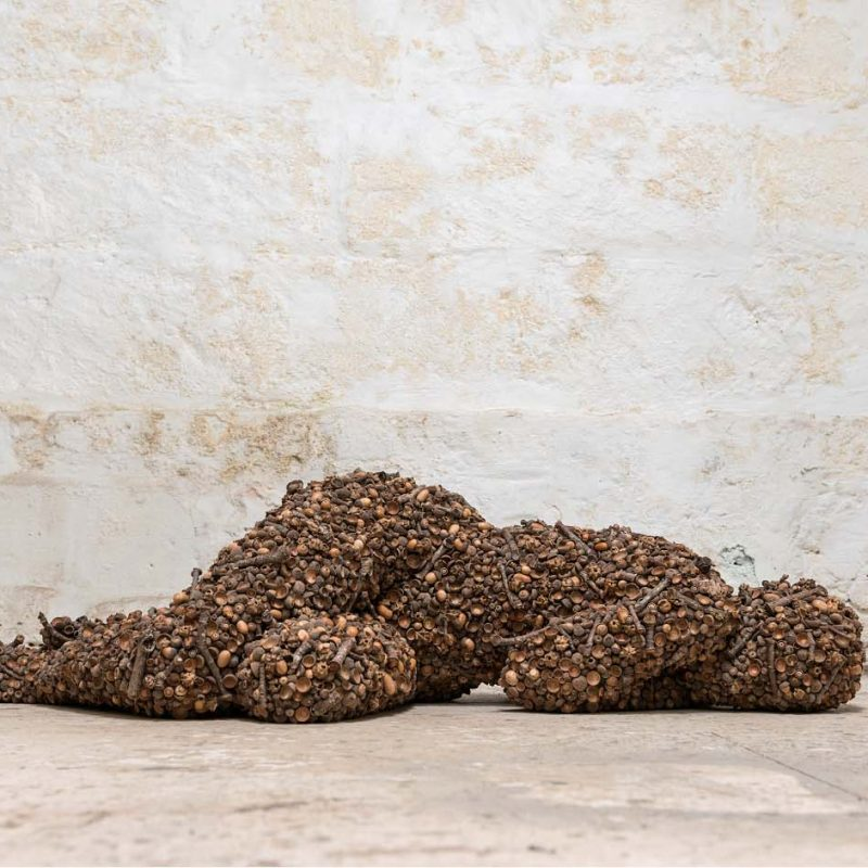 Anna Gillespie Dappled Sleep Bronze Ed. of 6 135 x 45 x 36 cm.