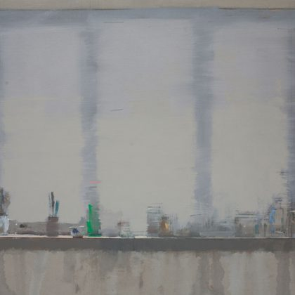 Nathan Ford Gone, Oil on canvas 48 x 63 cm