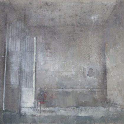 Nathan Ford Untitled, Oil on canvas 28 x 44 cm
