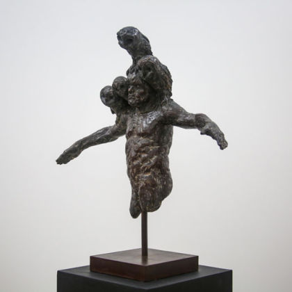 Beth Carter, The Watchman Bronze, Ed of 10, 78 x 69 x 28cm