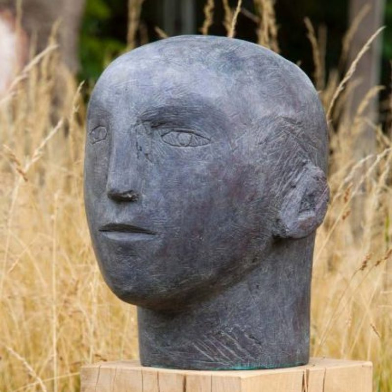 Christopher Marvell Mans Head, Bronze Ed. of 5 29 x 43 x 34 cm.