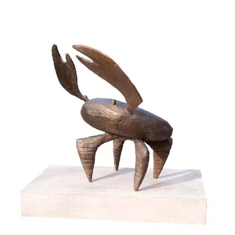 Christopher Marvell Crab, Bronze Ed. of 5 36 x 36 x 30 cm.