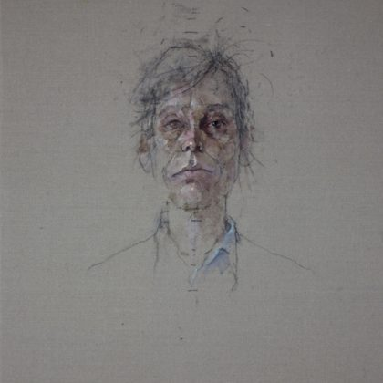 Nathan Ford Anita, Oil on Canvas 28 x 20 cm.