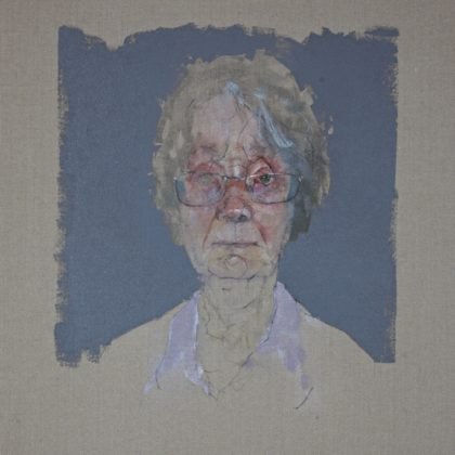 Nathan Ford Brenda, Oil on Canvas 28 x 20 cm.