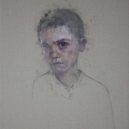 Nathan Ford Joachim 10.14, Oil on Canvas 28 x 20 cm.
