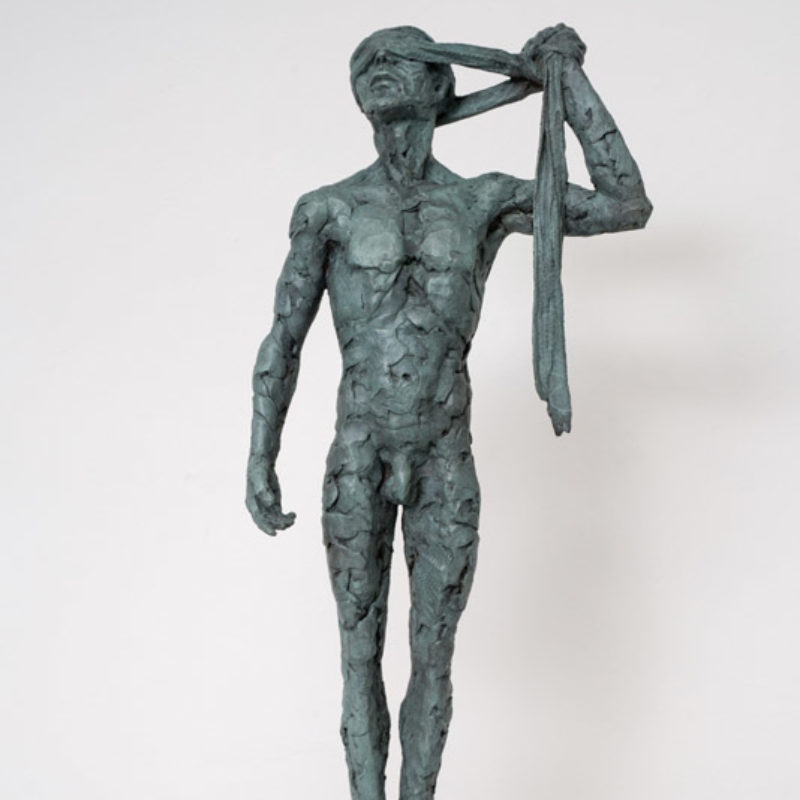 Anna Gillespie, Dancer, 1 of 9, Bronze 50 x 22 x 12 cm