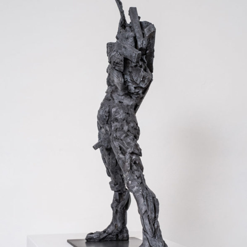 Anna Gillespie Mayhem, Bronze Edition 1 of 6 59 x 40 x 17 cm.