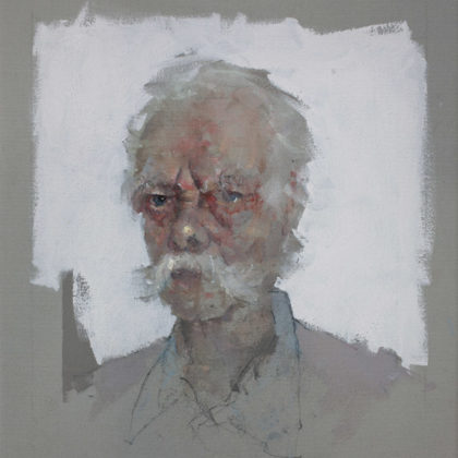 Nathan Ford, Paul, Oil on canvas 28 x 20 cm