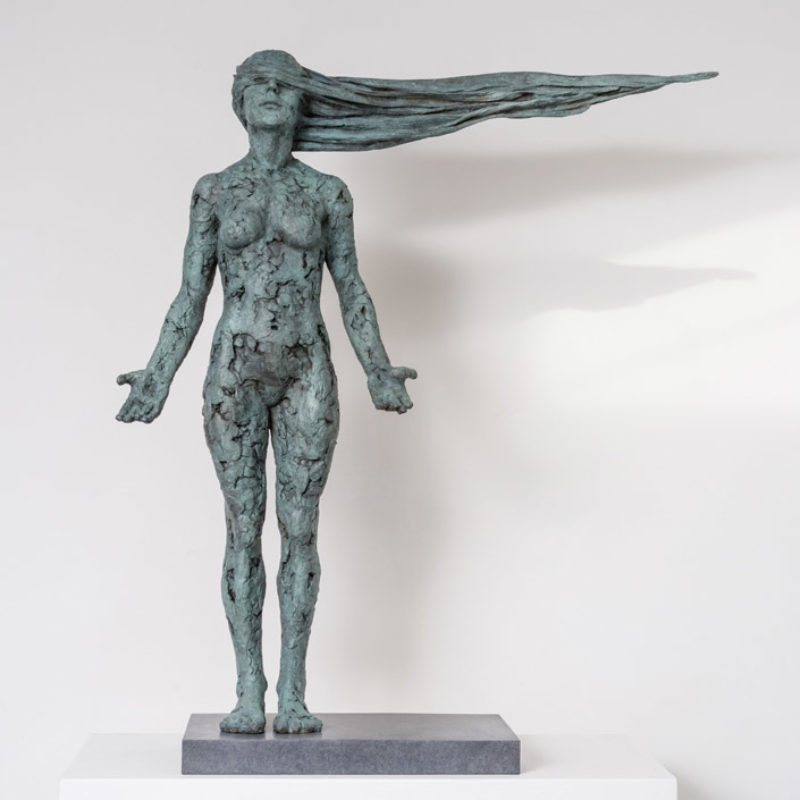 Anna Gillespie, Where Now, 1 of 9, Bronze, 88 x 75 x 21 cm