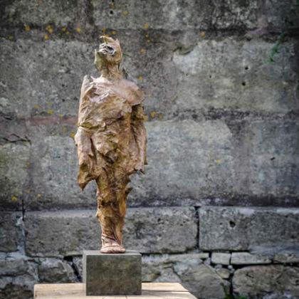 Anna Gillespie Autumn, Bronze Ed. of 9 h 42 cm