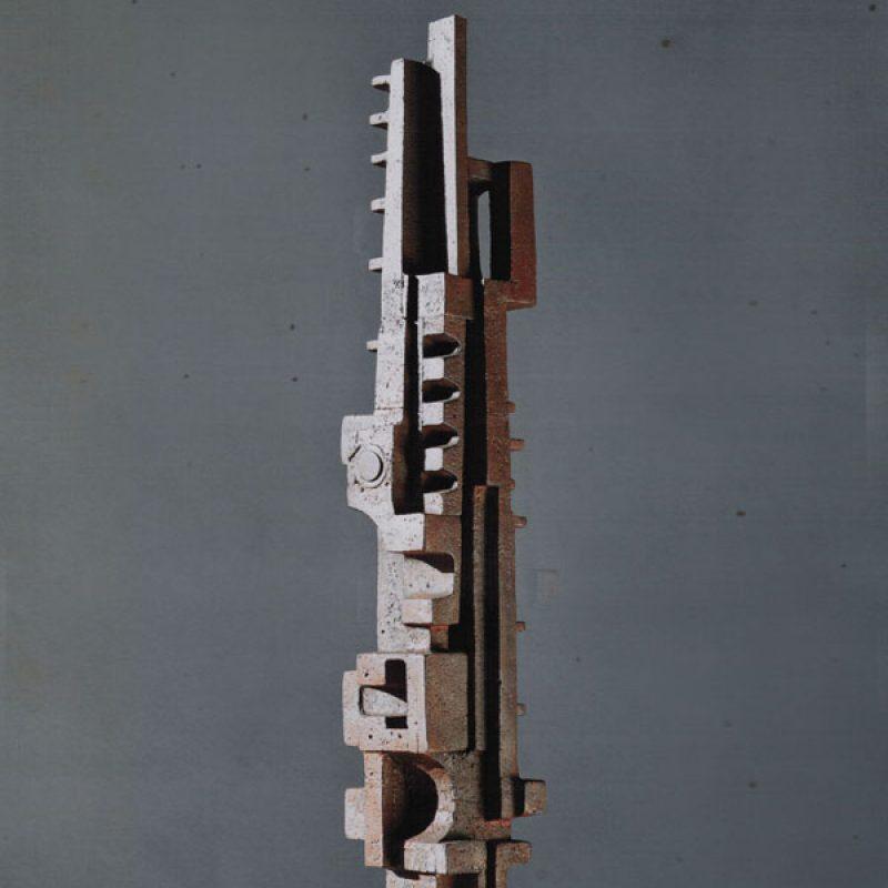 Paul Mount Shaman 2008, Unique, Cast Iron h105.5 cm