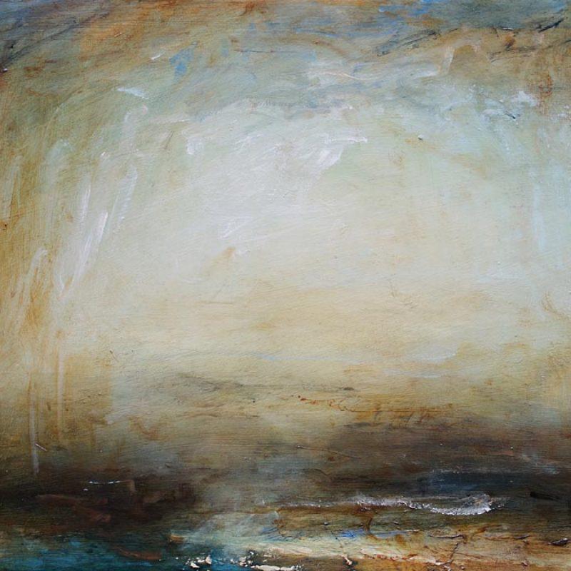 Mark Johnston Ethereal Water, Oil on panel 40 x 30 cm