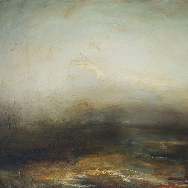 Mark Jonhston Furrow Oil on linen 35 x 50 cm