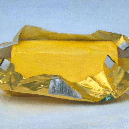 Conor Walton Butter, Oil on linen 20 x 29 cm