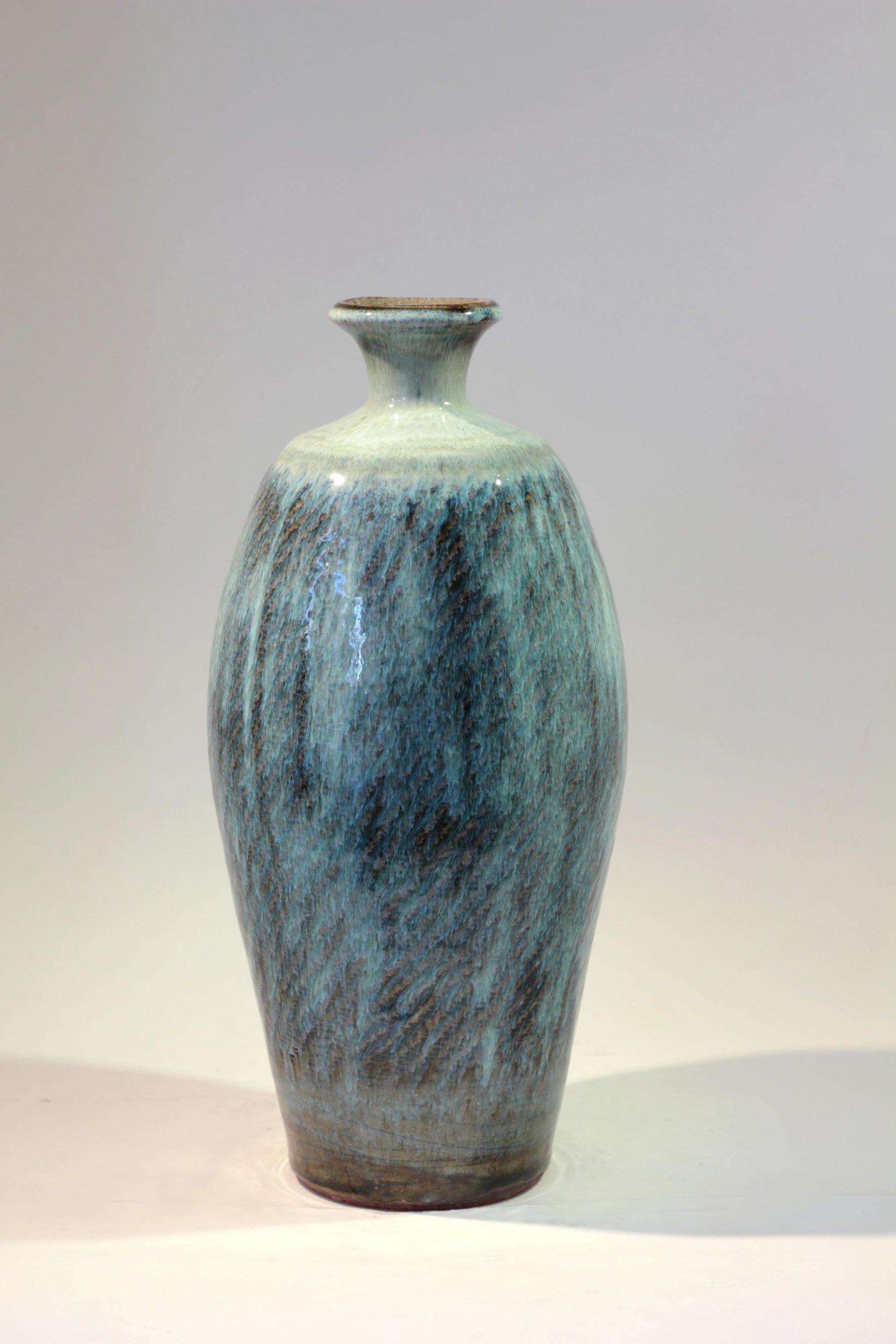 William Plumptre 13. Thrown Bottle Stoneware 33x15x15cm