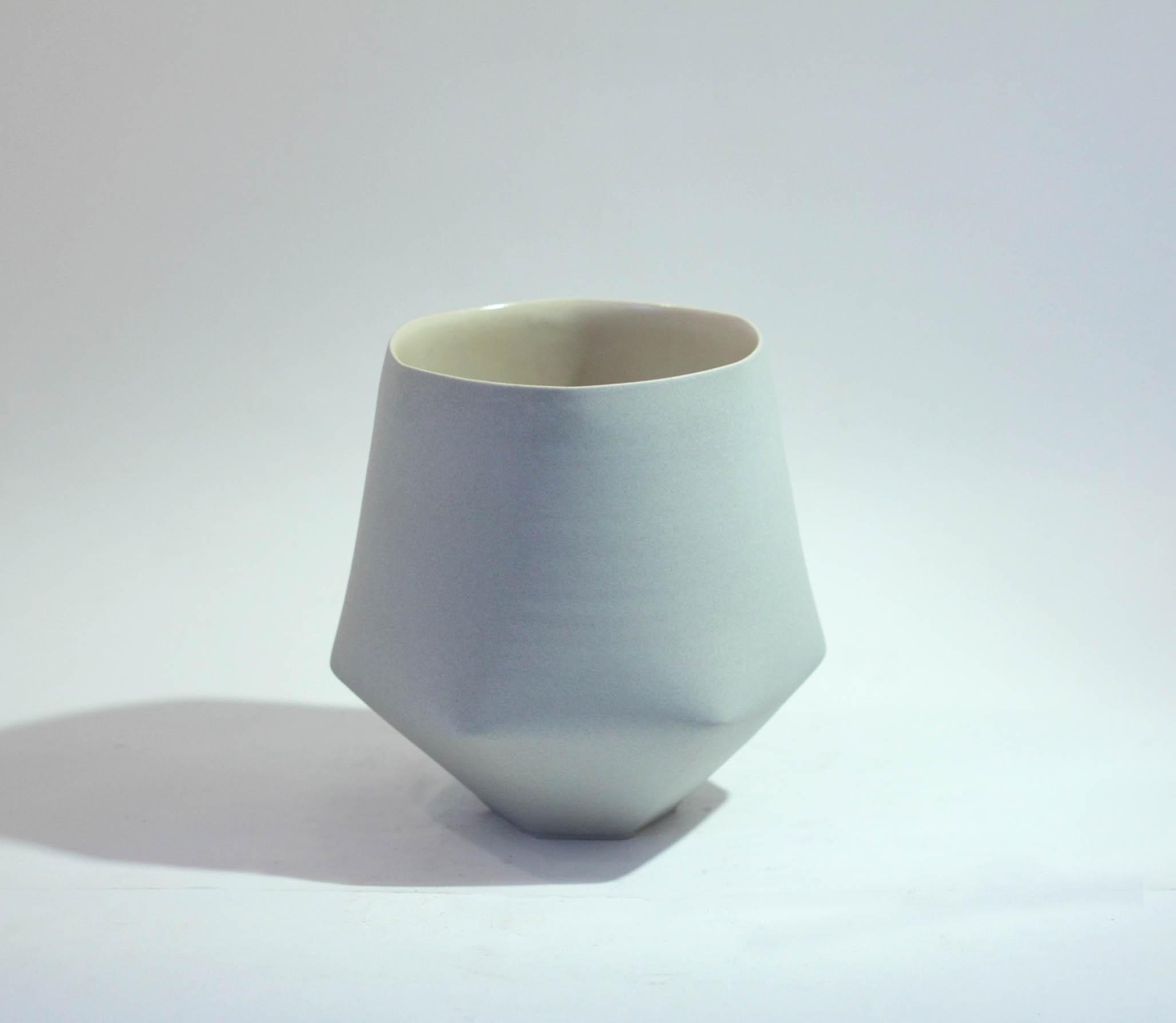 Sun Kim D3 Medium Folded Vase h15-5 x 14-5cm