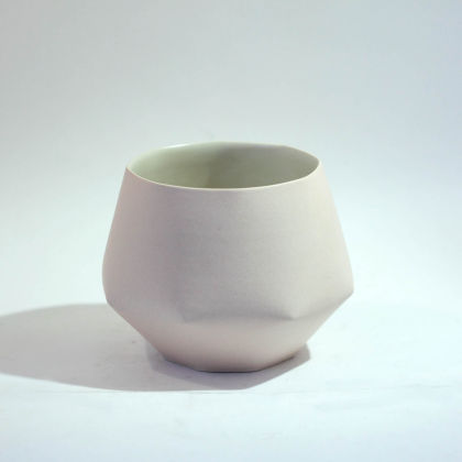 Sun Kim E3 Small Folded Vessel h12 x 16cm