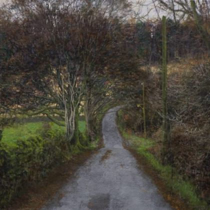 Martin Greenland Below Cleabarrow, chill (memory), Oil on canvas