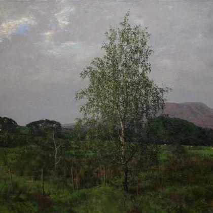 Martin Greenland Elva Plain, Oil on canvas