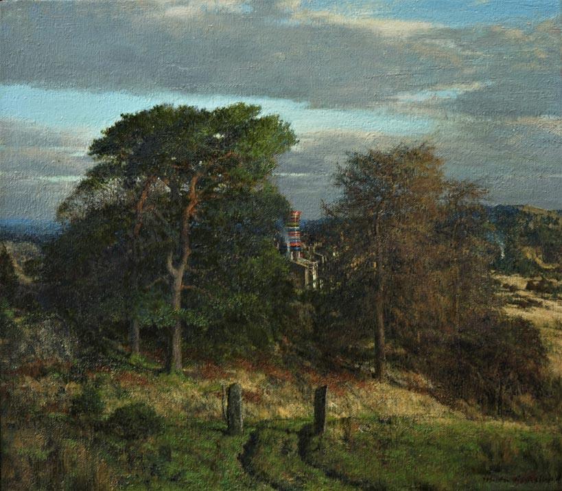 Martin Greenland Fallow, Oil on canvas
