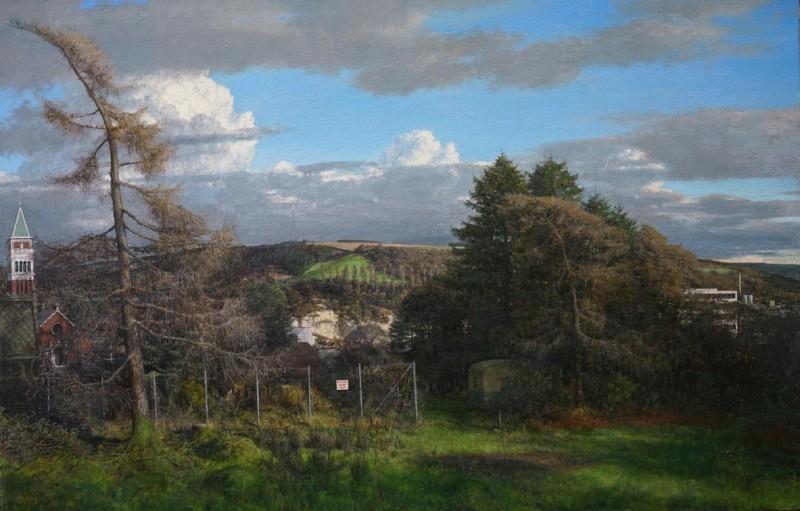 Martin Greenland March Italianate, Oil on canvas 87 x 56cm