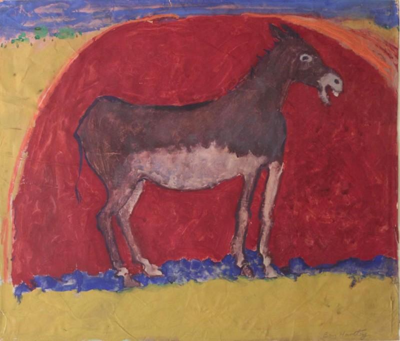 Ben Hartley Serenade, Gouache on Paper 52 x 62cm