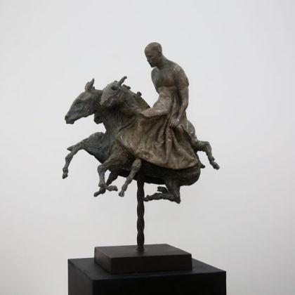 Beth Carter Broken Carnival Bronze, Ed of 10, 70 x 30 x 49cm