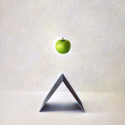 Atsuko Fujii Teleport, Acrylic on canvas 50 x 40 cm.