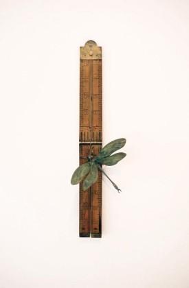 Patrick Haines Soul Measure I, Bronze Dragonfly, Ruler Ed. 10