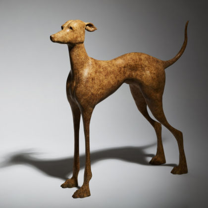 Anthony Scott Tuireann, Bronze Ed. of 9 h42 x 42 x 12 cm.