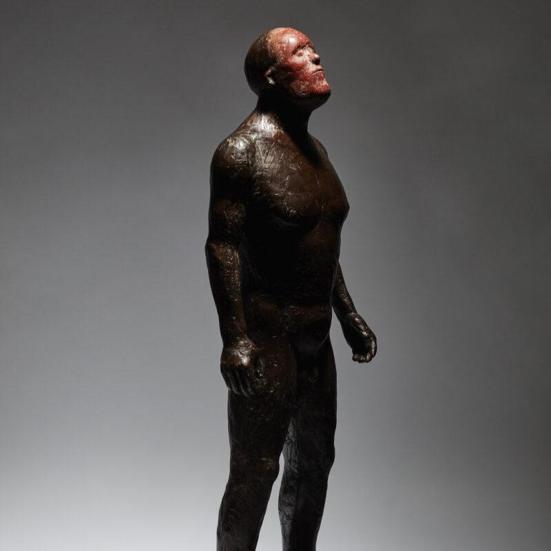 Anthony Scott Hunter Red Mask, Bronze Ed. of 9 h63 x 30 cm.