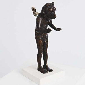 Beth Carter Clockwork Bear, Bronze Ed. of 15 h23 x 13 x 19 cm.