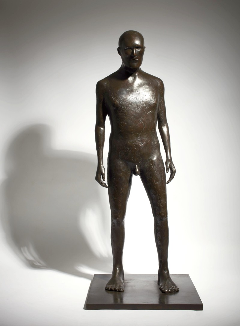 Anthony Scott Standing Warrior, Bronze Ed. of 6 h94 x 50 cm.