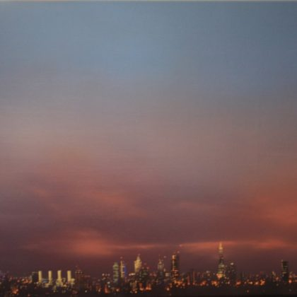 Jenny Pockley City of London - Skyline Study Oil on canvas 40 x 50 cm