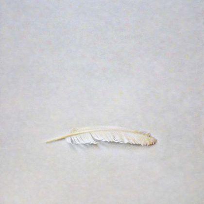 Atsuko Fujii Heartfelt, Acrylic on canvas 38 x 32 cm.