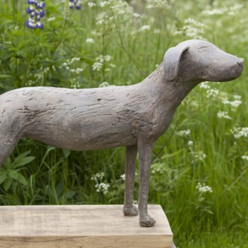 Christopher Marvell Provence Dog, Bronze Ed. of 5 57 x 95 x 26 cm.
