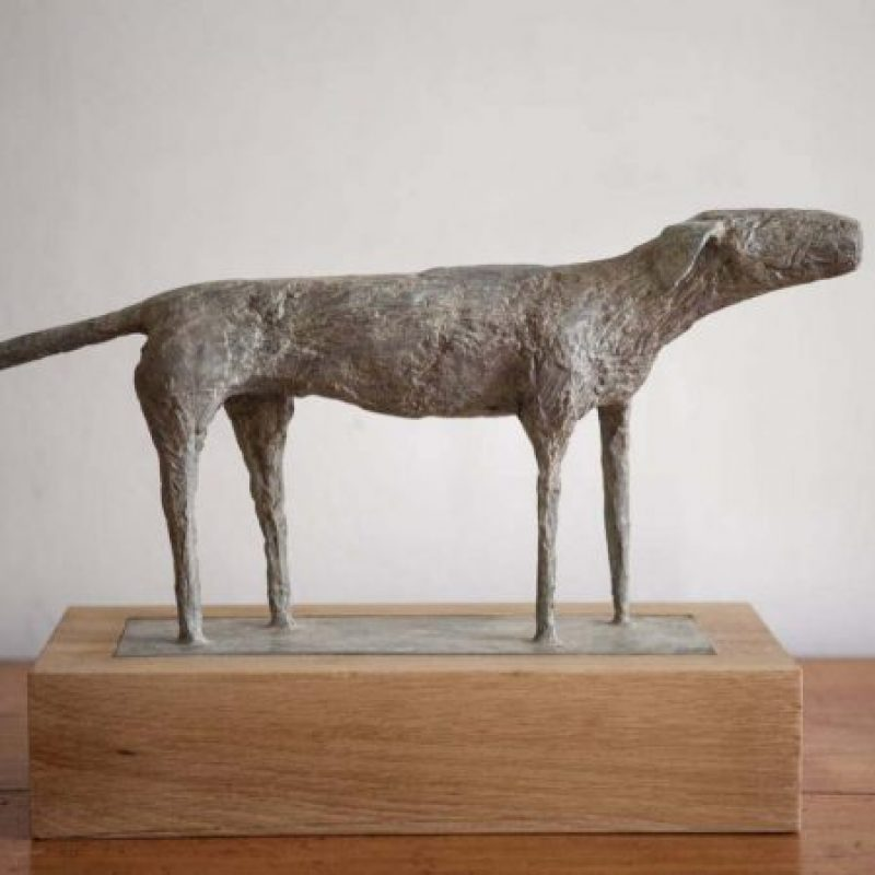Christopher Marvell Small Dog, Bronze Ed. of 7 38 x 18 cm.