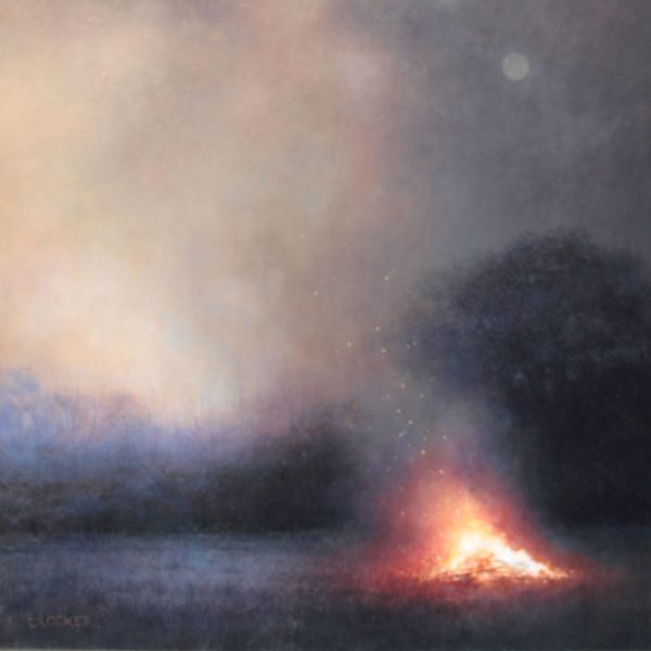 Andrew Crocker Our EventideFire49x39 painting