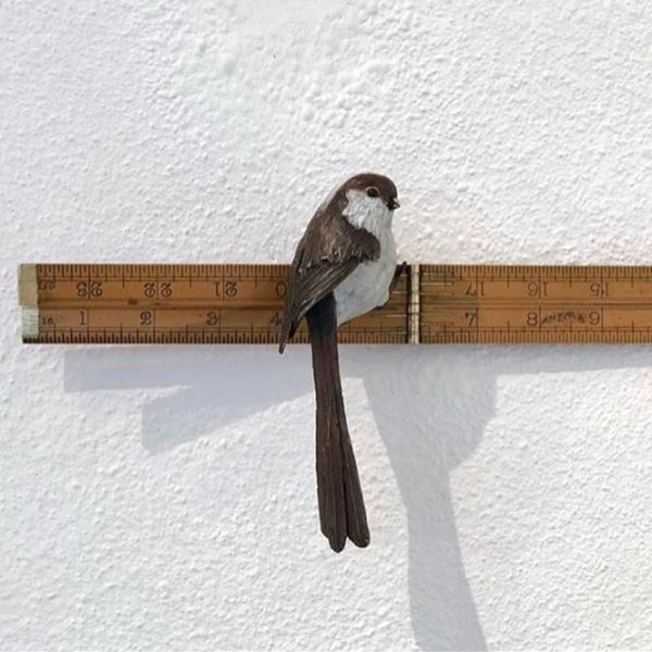 Patrick Haines Anima, Bronze bird and antique ruler Ed. of 25
