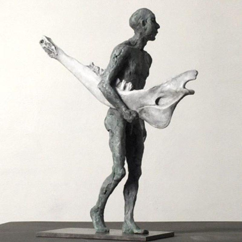 Anna Gillespie Arctic Find, Bronze Ed. of 9 28 x 24 x 12 cm.