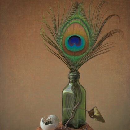 Alex Callaway Nature Morte Oil on linen panel 51 x 38 cm