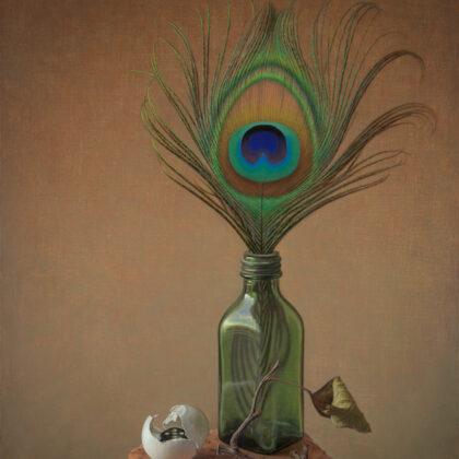 Alex Callaway Nature Morte Oil on linen panel 51 x 38 cm