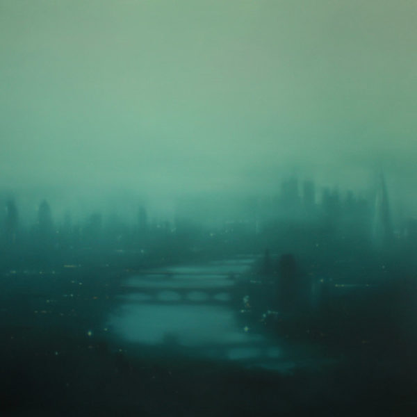 Jenny Pockley, Green Thames 120 x 150cms Oil on Canvas
