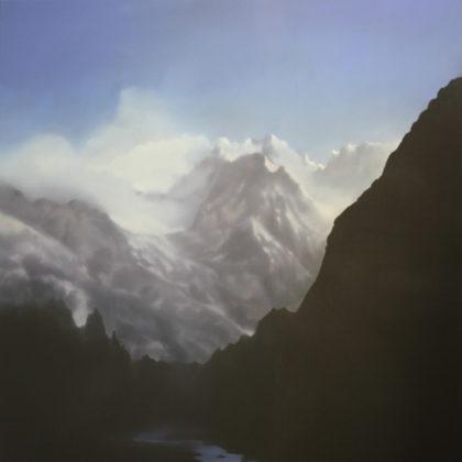 Jenny Pockley, Alpine Ombre 150 x 120cms, Oil on Canvas