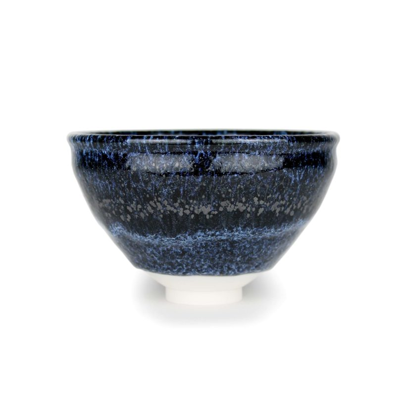 albert montserrat Small Blue Bowl Thrown Porcelain 9.5 x 15 cm.