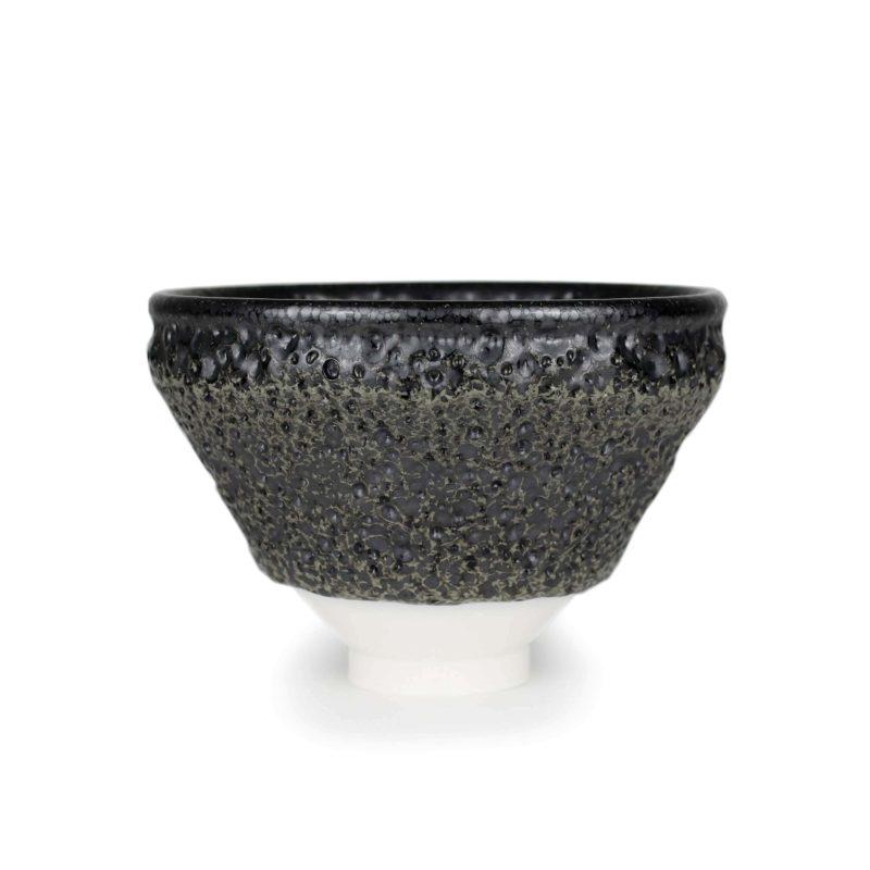 Albert Montserrat Textured Bowl Thrown Porcelain 10 x Ø 14.5 cm.
