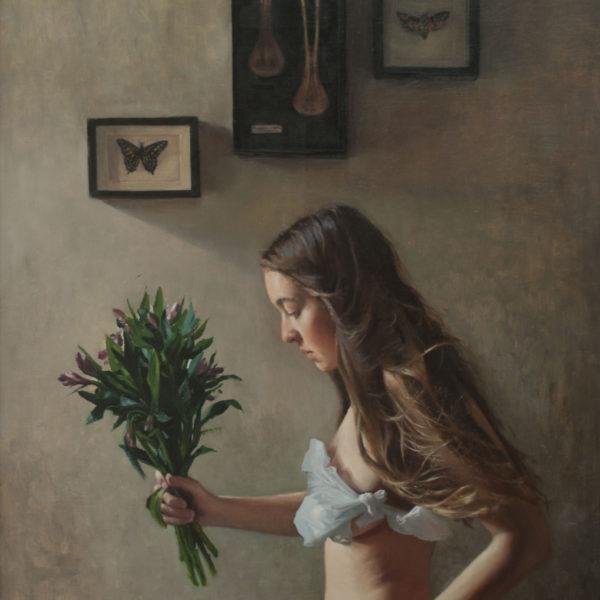 Helen Masacz Abattoir Blues Oil on board 60 x 86 cm