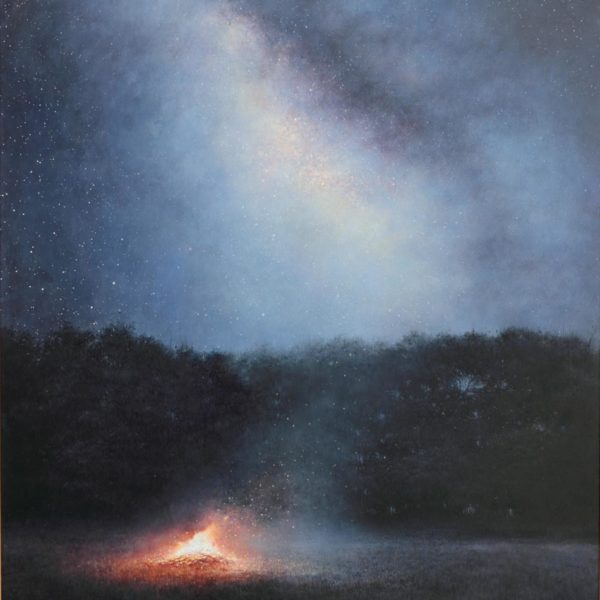 Andrew Crocker Way Back When, Oil on board 61 x 46 cm.