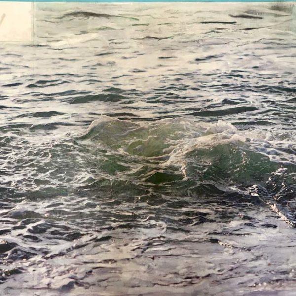 Dawnne McGeachy 1_55.4241° N, 5.6054° W Oil Wax ink_ 93x 123cm